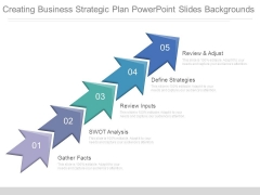 Creating Business Strategic Plan Powerpoint Slides Backgrounds