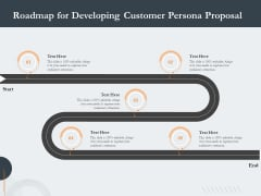 Creating Buyer Persona Roadmap For Developing Customer Persona Proposal Diagrams PDF