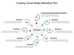 Creating Social Media Marketing Plan Ppt PowerPoint Presentation Ideas Diagrams Cpb