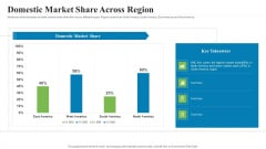 Creating Successful Advertising Campaign Domestic Market Share Across Region Brochure PDF
