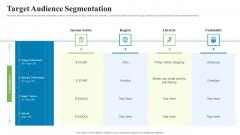 Creating Successful Advertising Campaign Target Audience Segmentation Topics PDF