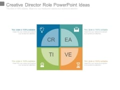 Creative Director Role Powerpoint Ideas