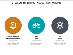 Creative Employee Recognition Awards Ppt PowerPoint Presentation Model Layouts Cpb