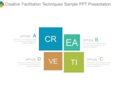 Creative Facilitation Techniques Sample Ppt Presentation