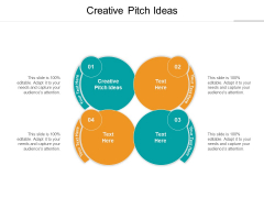 Creative Pitch Ideas Ppt PowerPoint Presentation Show Cpb