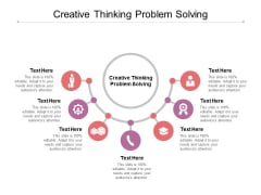 Creative Thinking Problem Solving Ppt PowerPoint Presentation Pictures Example File Cpb