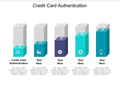 Credit Card Authentication Ppt PowerPoint Presentation Model Cpb Pdf