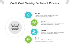 Credit Card Clearing Settlement Process Ppt PowerPoint Presentation Slides Design Inspiration Cpb Pdf