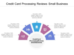 Credit Card Processing Reviews Small Business Ppt PowerPoint Presentation Infographics Outfit Cpb