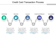 Credit Card Transaction Process Ppt PowerPoint Presentation Outline File Formats