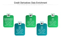 Credit Derivatives Data Enrichment Ppt PowerPoint Presentation Styles Rules Cpb Pdf
