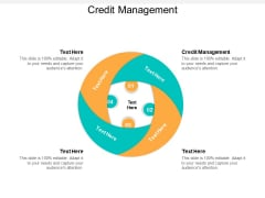Credit Management Ppt PowerPoint Presentation Visual Aids Show Cpb