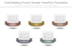 Credit Modeling Process Template Powerpoint Presentation