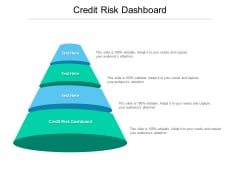 Credit Risk Dashboard Ppt PowerPoint Presentation Pictures Images Cpb Pdf