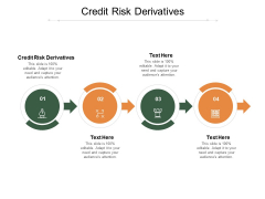 Credit Risk Derivatives Ppt PowerPoint Presentation Pictures Gallery Cpb Pdf