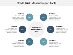 Credit Risk Measurement Tools Ppt PowerPoint Presentation Outline Model