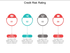 Credit Risk Rating Ppt PowerPoint Presentation Ideas Topics Cpb
