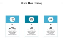 Credit Risk Training Ppt PowerPoint Presentation Layouts Outfit Cpb Pdf