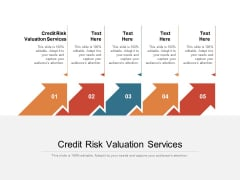 Credit Risk Valuation Services Ppt PowerPoint Presentation Styles Outfit Cpb Pdf