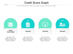 Credit Score Graph Ppt PowerPoint Presentation Model Visuals Cpb Pdf