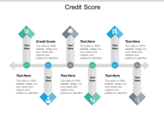 Credit Score Ppt PowerPoint Presentation Summary Introduction Cpb