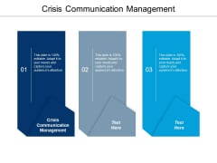 Crisis Communication Management Ppt PowerPoint Presentation Slides Elements Cpb