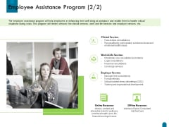 Crisis Management Employee Assistance Program Services Ppt Layouts PDF