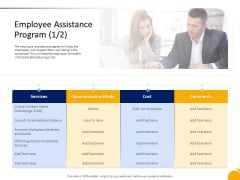 Crisis Management Presentation Employee Assistance Program Services Template PDF