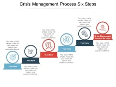 Crisis Management Process Six Steps Ppt PowerPoint Presentation Styles Introduction