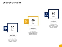 Crisis Management Program Presentation 30 60 90 Days Plan Ppt Infographic Template Show PDF