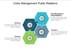 Crisis Management Public Relations Ppt PowerPoint Presentation Layouts Clipart Cpb