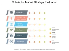Criteria For Market Strategy Evaluation Ppt PowerPoint Presentation Icon Information