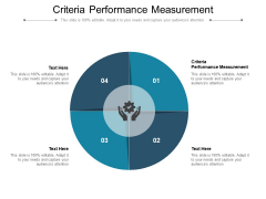 Criteria Performance Measurement Ppt PowerPoint Presentation Gallery Slide Portrait Cpb Pdf