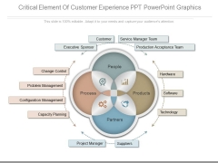 Critical Element Of Customer Experience Ppt Powerpoint Graphics