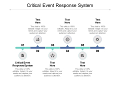 Critical Event Response System Ppt PowerPoint Presentation Ideas Graphics Template Cpb