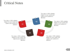 Critical Notes Ppt PowerPoint Presentation Example