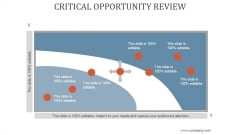 Critical Opportunity Review Ppt PowerPoint Presentation Ideas