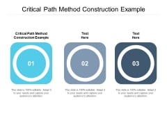 Critical Path Method Construction Example Ppt PowerPoint Presentation Outline Samples Cpb Pdf
