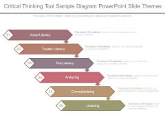 Critical Thinking Tool Sample Diagram Powerpoint Slide Themes