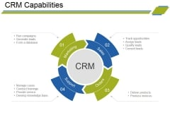 Crm Capabilities Ppt PowerPoint Presentation Pictures Graphic Tips