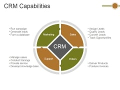 Crm Capabilities Ppt PowerPoint Presentation Summary Graphics Template
