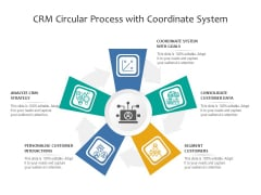 Crm Circular Process With Coordinate System Ppt PowerPoint Presentation File Files PDF