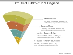Crm Client Fulfilment Ppt Diagrams
