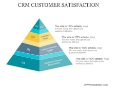 Crm Customer Satisfaction Ppt PowerPoint Presentation Clipart