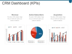 Crm Dashboard Kpis Ppt PowerPoint Presentation Layouts