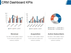 Crm Dashboard Kpis Ppt PowerPoint Presentation Rules