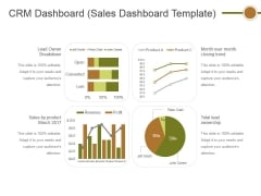 Crm Dashboard Sales Dashboard Template Ppt PowerPoint Presentation Professional Layout