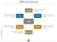 Crm Introduction Ppt PowerPoint Presentation Pictures