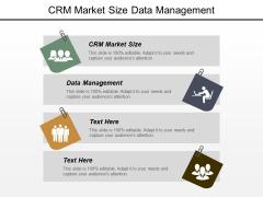 Crm Market Size Data Management Ppt PowerPoint Presentation File Microsoft