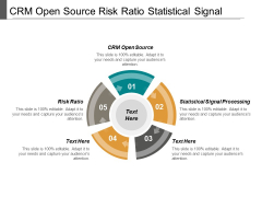 Crm Open Source Risk Ratio Statistical Signal Processing Ppt PowerPoint Presentation File Graphics Template